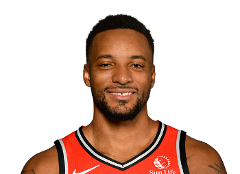 Picture of the 6 ft 3 in (1.91 m) tall American shooting guard of Toronto Raptors