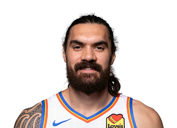 Picture of the 6 ft 11 in (2.11 m) tall Kiwi center of Oklahoma City Thunder