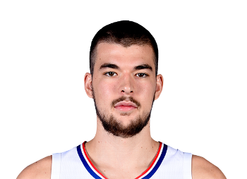 Picture of the 7 ft 0 in (2.13 m) tall Croatian center of Los Angeles Clippers