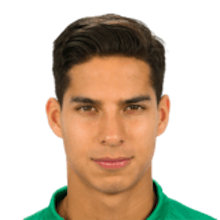 Picture of the 1.68 m (5 ft 6 in) tall Mexican  winger of Real Betis